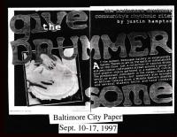 Baltimore City Paper Hand Drumming cover story, part 1