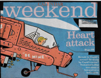 My cover feature on anti-Valentine's Day activities in Los Angeles for the Los Angeles Times Weekend Calendar